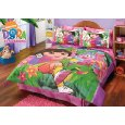 Dora And Boots 6pc. Comforter Set / Twin Discount