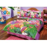 Dora And Boots 8 Pc. Comforter Set / Full Lowest Price