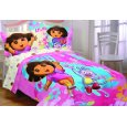 Dora Exploring Together Twin/Full Comforter Lowest Price