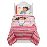 Dora Flowers Are Free Comforter - Twin Free Shipping