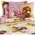 Dora The Explorer And Puppy Cotton Rich Twin Sheet Set Lowest Price