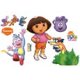 Dora The Explorer Backpack And Boots Wall Decal Best Price