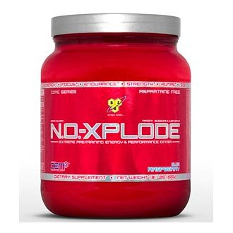 BSN N.O.-Xplode Extreme Pre-Training Performance Igniter, Fruit Punch 2.48 lb (1025 g)