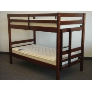 Bunk Bed Twin over Twin Ranch style in Cherry