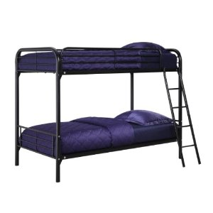 Dorel Home Products Twin-Over-Twin Bunk Bed