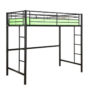 Sunset Metal Twin/Loft Bunk Bed