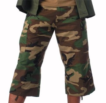 Military Authentic Capri BDU Style Ultra Force Pants