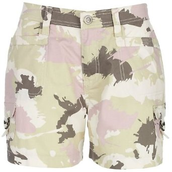 Misses Lee Finney Comfort Fit Camo Shorts