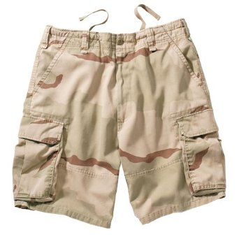 Rothco Ultra Force Vintage Paratrooper - Men's Cargo Shorts - Desert Camo