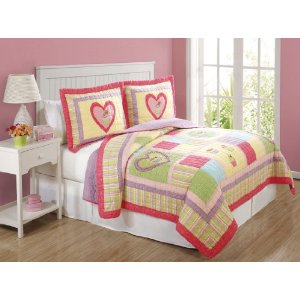 Lifestyles 2-Piece Cupcake Quilt Set, Twin