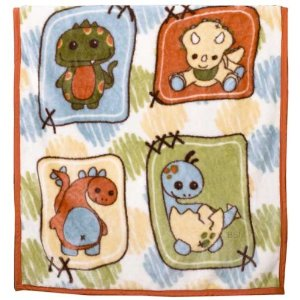 CoCaLo Baby Dinos At Play Soft & Cozy Blanket - 36
