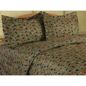 Twin Dinosaur Bedding Comforter Set