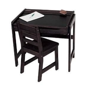 Lipper Child's Desk W/ Chalkboard Top