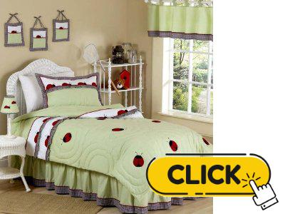Ladybug Children Bedding We Buy Cheaper