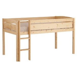 Canwood Whistler Junior Loft Bed - Natural