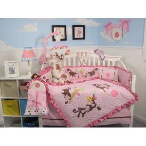 Monkey Bedding For Kids Webuycheaper Com