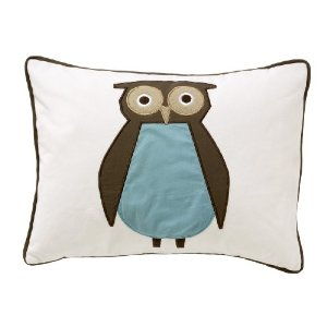 DwellStudio Boudoir Pillow, Owls