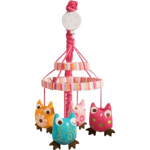 Zutano Owls Musical Mobile