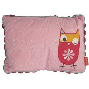 Zutano Owls Pillow