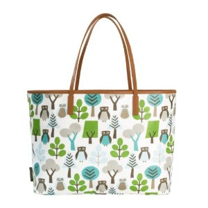 Dwellstudio Madison Diaper Bag, Owls