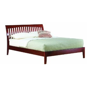 Modus Furniture Newport Bed, Cordovan