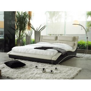 Napoli Contemporary Platform Bed (Queen Size).