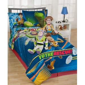 Disney Pixar Bedding, Toy Story 3D Twin Comforter Set