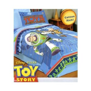 Disney Pixar Toy Story Full Sheet Four-piece Set