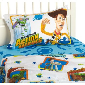 Disney/Pixar Toy Story Protecting Toys Everywhere Twin Sheet Set
