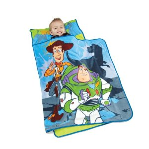 Disney Toddler Nap Mat with Coral Fleece Blanket