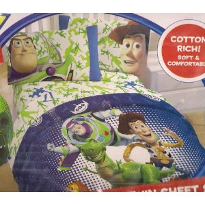 Disney Toy Story 3 Piece Twin Sheet Set