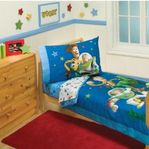 Disney Toy Story 4 Piece Toddler Bedding Set