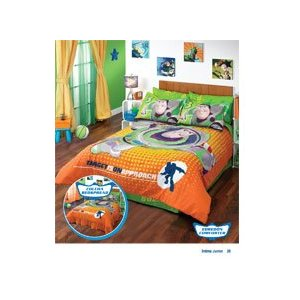 Toy Story 3 Complete Comforter Set/ Twin