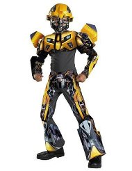 Bumblebee Movie 3-D Deluxe Child Costume - Medium (7-8) Discount