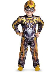 Bumblebee Toddler Muscle Costume - Medium (3T-4T) Reviews