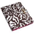 "Diane Von Furstenberg Kasi Canvas Clutch For Kindle (Fits 6"" Display, 2nd Generation Kindle) Ikat Choco Print Lowest Price"