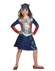 Optimus Girl Classic Costume - Small (4-6x) Lowest Price