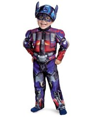 Optimus Toddler Muscle Costume - Medium (3T-4T) Discount