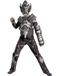 Transformers 3 Dark Of The Moon Movie - Ironhide Deluxe Child Halloween Costume (Medium (7-8)) Where To Buy