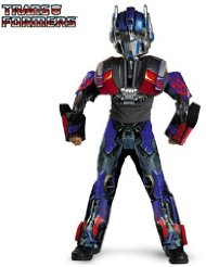 Transformers Optimus Prime Movie 3-D Deluxe Child Halloween Costume (Size Small 4-6) Free Shipping